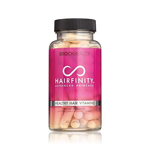 Hairfinity Hairfinity Healthy Hair Vitamin Capsules 60 EA (Pack of 3) Bouchon d'oreille 6 Centimeters Noir (Black)