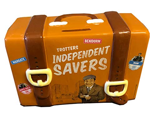 Only Fools and Horses Official Del Boys Travel Suitcase Money Box with stopper