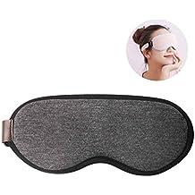 KOBWA máscara de ojos con calor USB, con control de temperatura y tiempo, de seda, para calentar y enfriar los ojos, diseñada para aliviar la blefaritis y ...
