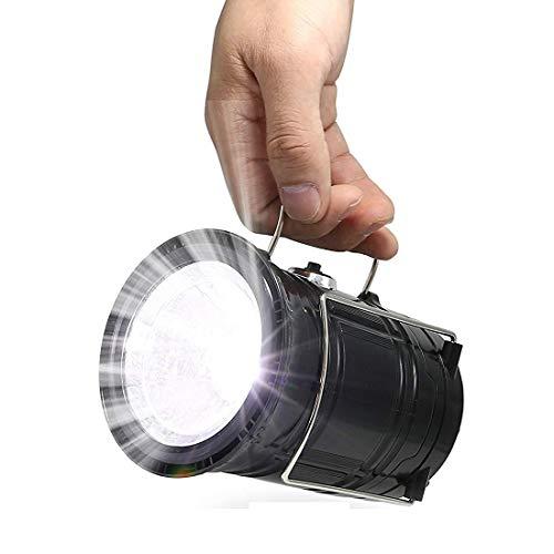 LHY TRAVEL Expower IPX5 wasserdicht tragbare LED Camping Laterne Helle Campinglampe Gartenlaterne Led USB Lampe Taschenlamp 4 Licht Modi für Nachtfischen,Jagen