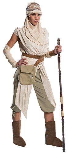 Kostüm Heritage Grand - Rubie's Offizielles Damen Star Wars Rey Kostüm Grand Heritage Deluxe - Größe S