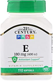 21st Century Natural E-400, 110 Softgels