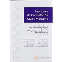 Lecciones de contratación civil y mercantil (Manuales)