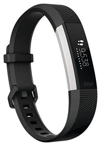 Fitbit Alta Hr, Braccialetto Wireless Monitoraggio Battito Cardiaco Unisex – Adulto, Nero, Small