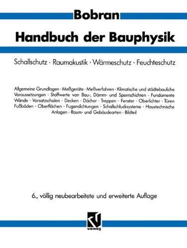 Handbuch der Bauphysik: