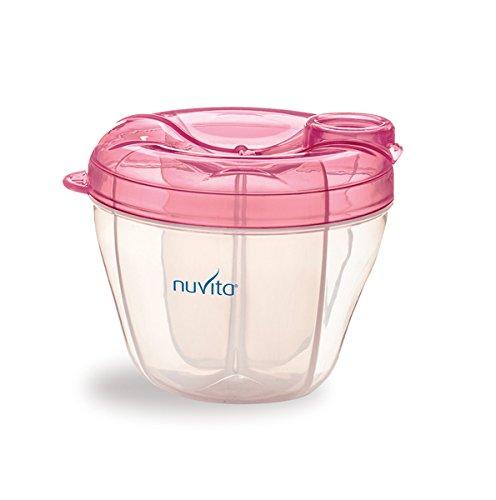 Nuvita NU-ALPL0002  1461 Contenitore e Dosatore per Latte, Rosa
