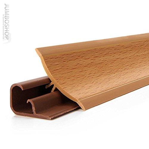 150cm Küchenabschlussleiste Küchenleiste Wandabschlussleiste -- 23 x 23mm LB23-641 BUCHE -- Abschlussleiste DPD Küchen Arbeitsplatten