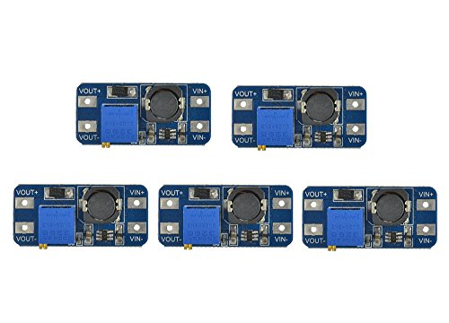 Preisvergleich Produktbild WINGONEER 5PCS MT3608 DC-DC Step Up Power Apply Modul Booster 2A Power Modul für Arduino