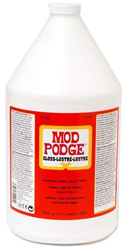 Mod Podge PECS11204 Gloss Wasserbasierende Versiegelung, Kleber und Lack - 1 Gallone, Synthetic...