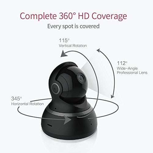 YI Dome IP Kamera 1080p HD-Überwachungskamera IP Security Home Camera - 3