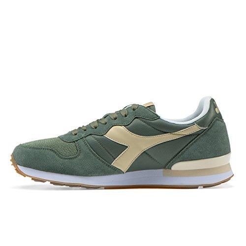 Diadora Camaro, Chaussures de Gymnastique Homme C7394 - GREEN GOLF CLUB-BEIGE BLANCHI