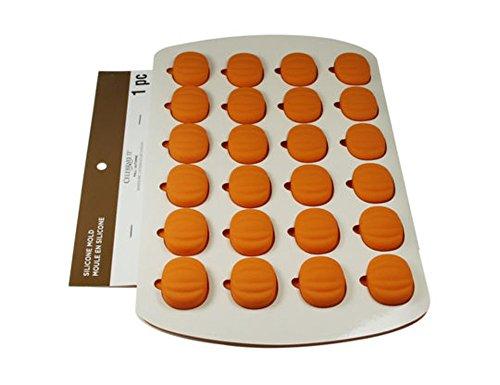 Backform für Süßigkeiten und Kuchen, 24 Mulden, Kürbis-Herbstform, für Süßigkeiten und Kuchen