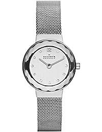 Skagen Classic Analog Silver Dial Women's Watch - 456SSS