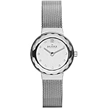 Skagen End-of-Season Classic Analog Silver Dial Women's Watch - 456SSS