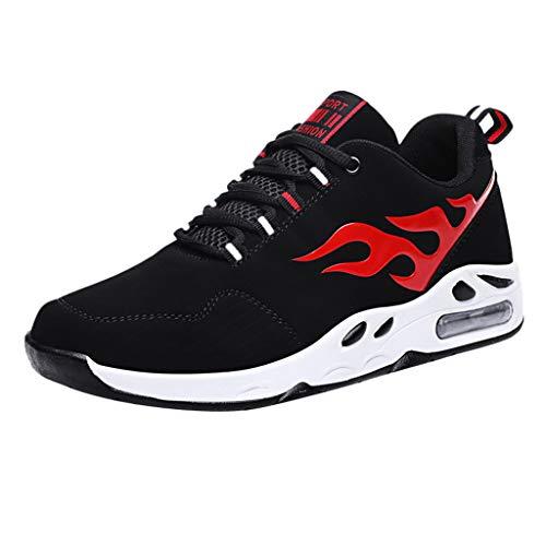 Laufschuhe Herren,Dasongff Männer Sneaker High Top Trainer Sportschuhe,Atmungsaktiv Turnschuhe Schnürer Running Shoes mit Luftpolster