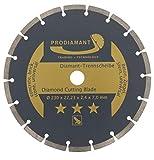 Prodiamant Disco diamantato 230X 22,2mm PROCUT-Cemento, Pietra, mattoni, universale-Disco diamantato 230mm