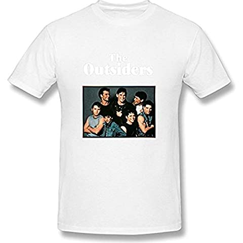 AKERY Men's The Outsiders Band T Shirt XXL