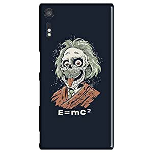 Bhishoom Designer Printed Back Case Cover for Sony Xperia XZ, Sony Xperia XZ Dual F8332 (Cute Einstein Comic Skull)