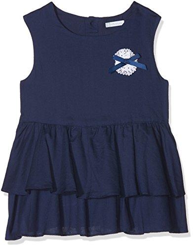TUTTO PICCOLO Mädchen Bluse 4748S18, Blau (Navy Blue B07), 4 Jahre Tutto Piccolo