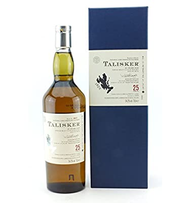 Talisker 25 Year Old Single Malt Scotch Whisky 70cl Bottle