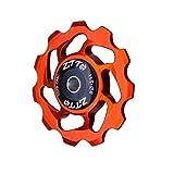 CamKpell Leichte Aluminiumlegierung MTB Fahrrad Schaltwerk Stützrad Keramiklaufrolle AL7075 CNC Rennrad Führungsrolle