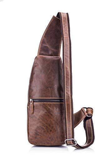 Zoom IMG-2 borsa tracolla vera pelle uomo