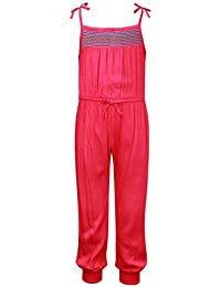 The Cranberry Club Pink Rayon Dobby Jumpsuit
