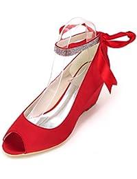 Amazon Tacón es Cuña 43 Roja Para Zapatos Sandalia De Apr0nxpd