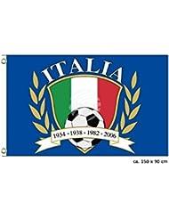 MIDI Shopping–bandera italiana Italia Italia Flag National International Europe 150x 90cm fl-09a