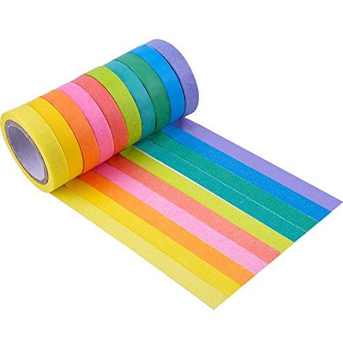 mudder-10-rolls-decorative-washi-tape-diy-sticker
