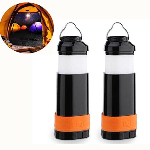 MASUNN Portable Faltbare LED Laterne Taschenlampe Ultra-Batterien Powered Camping Licht mit 3 Modi