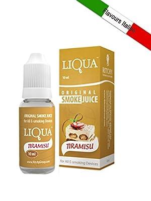 E-liquid LIQUA für Zigarette-e Geschmack Tiramisu [ 6 ] ohne Tabak ohne Nikotin von RITCHY