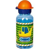 Kleine Freunde Collection Botella de Deporte de Agua Niños Excavadora 0,4L. de Tritan