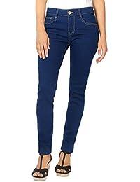 KRISP Women Denim Cotton Jeans Casual Stretch Pants