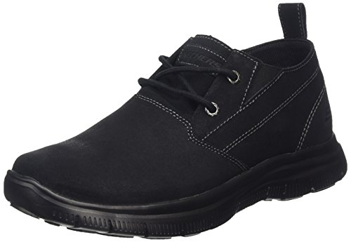 Skechers Herren Hinton-Boley Tennisschuhe, - BLK, 43 EU / 9 UK / 10 US