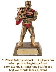 Dardos Superhero Figura trofeo–165mm