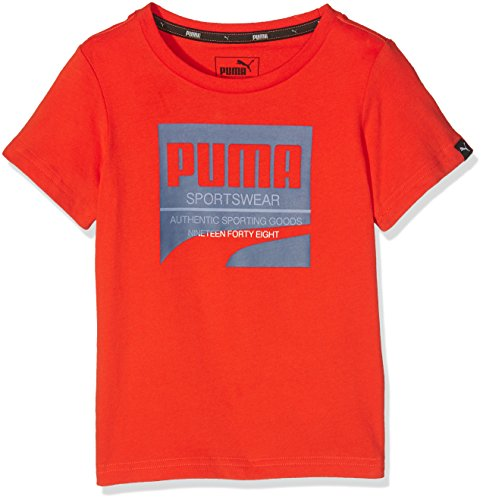 PUMA Kinder T-shirt STYLE Tee, Orange.com, 140, 838825 16