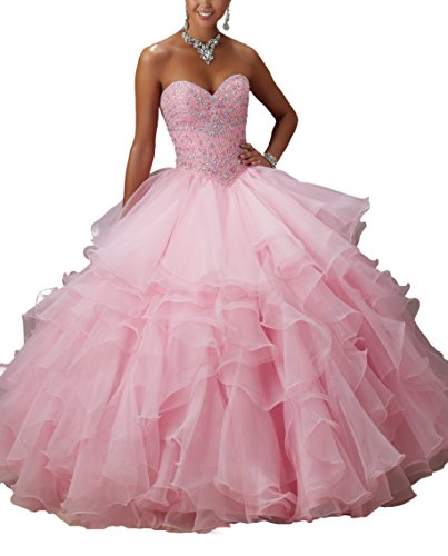 Bridal_Mall - Robe - ball gown - Femme Rose bonbon