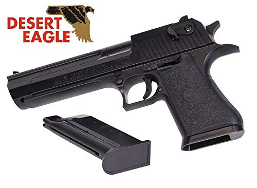 KOSxBO Set Desert Eagle .50AE Pistole inklusive 6mm BBS Munition 0,5j Federdruck Airsoft ab 14 Jahren