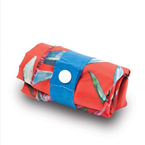 WILD Birds Bag: Gewicht 55 g, Größe 50 x 42 cm, Zip-Etui 11 x 11.5 cm, handle 27 cm, water resistant, made of polyester, OEKO-TEX certified, can carry up to 20 kg Sugarbush