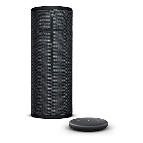 Amazon Echo Input, negro + Altavoz inalámbrico Bluetooth Ultimate Ears MEGABOOM 3, negro