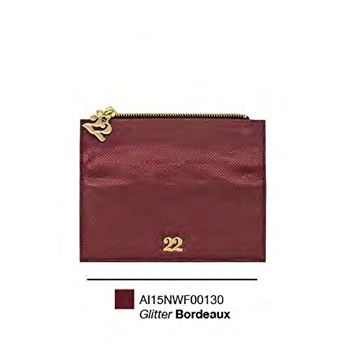 Numeroventidue WALLET FLAP SNAKE Portafogli Accessori Ecopelle Bordeaux Bordeaux TU