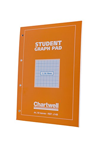 chartwell-student-graph-pad-70gsm-1mm-5mm-10mm-grid-50-sheets-a4-orange-cover-ref-j14b