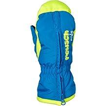 Reusch Joven Ben Manoplas guantes, Otoño-invierno, niño, color azul brillante, tamaño III