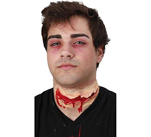 Narbe Schnitt, Blutige Kehle, Halloween