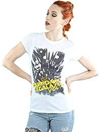 Marvel Femme Guardians of the Galaxy Comic T-Shirt XX-Large blanc