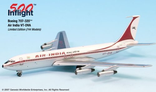 air-india-vt-dva-707-300-airplane-miniature-model-metal-die-cast-1500-parta015-if5707004-by-flight-m