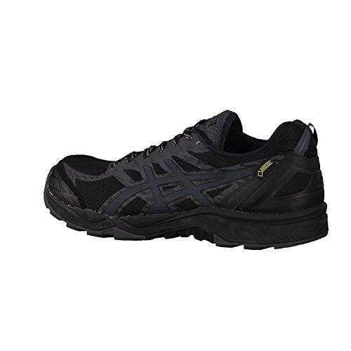 Asics Herren Gel-Fujitrabuco 5 Gtx Trail Running Schuhe schwarz / silber