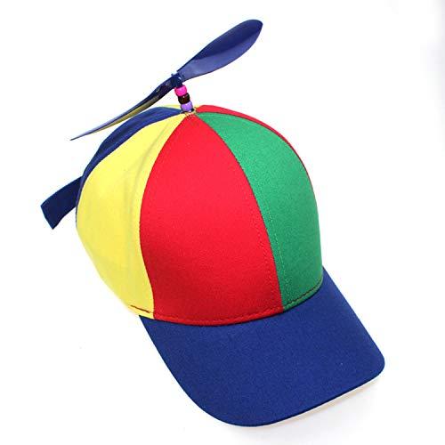 U&X Helikopter Propeller mütze Cap Baseball Kappe Bunte Mütze für Jungen und Mädchen