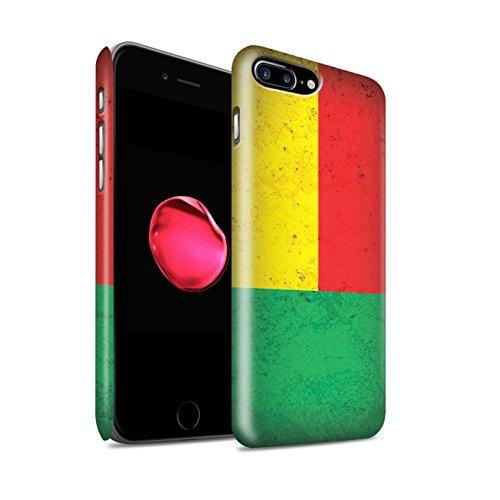 STUFF4 Matte Snap-On Hülle / Case für Apple iPhone 7 / Ägypten/Ägypter Muster / Afrika Flagge Kollektion Benin/Beninese